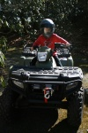 Kid D on the ATV