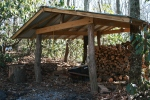 The woodpile was well stocked for winter