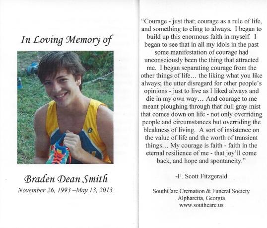 Braden memory card