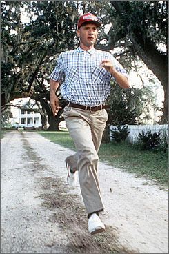 Run, Forrest, Run.
